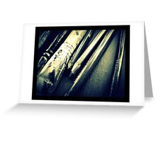 Pencil collection Greeting Card
