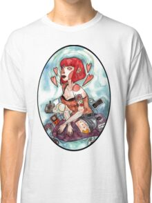 Videogame Babe Classic T-Shirt