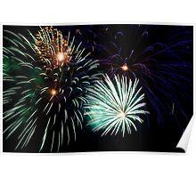 Saint Petersburg Fireworks Poster