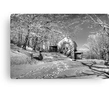 Blue Ridge Winter Canvas Print