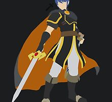Marth (Black) - Super Smash Bros. by samaran