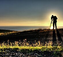 A Photographer's Silhouette by jhames808