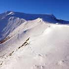 Blencathra beneath winter snows by WillH