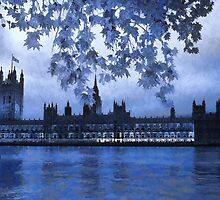 The Houses of Parliament by ElsieBell