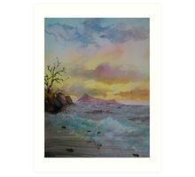 Sunset on the Ross Art Print
