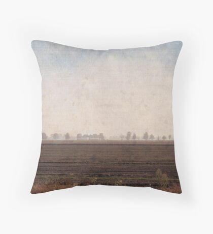 turner in the po valley Throw Pillow