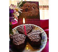 Happy Birthday (For JUSTART) Photographic Print
