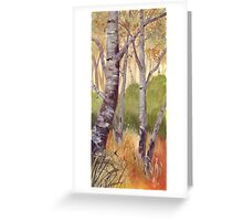 Trees On The Common Greeting Card