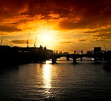 London Sunrise by Lea Valley Photographic