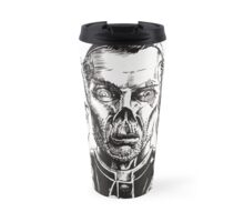 The Graveyard Book, 'The Ghouls' - ink Travel Mug