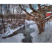 Winter's Landscape Photographic Print