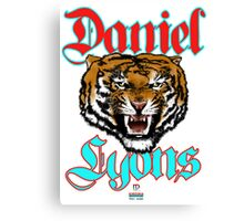 Raging Tiger Avatar Poster Canvas Print