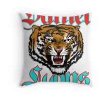 Raging Tiger Avatar Poster Throw Pillow