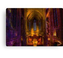 Heinz Memorial Chapel Canvas Print