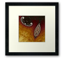 Cluster and Crinkly Bow Framed Print