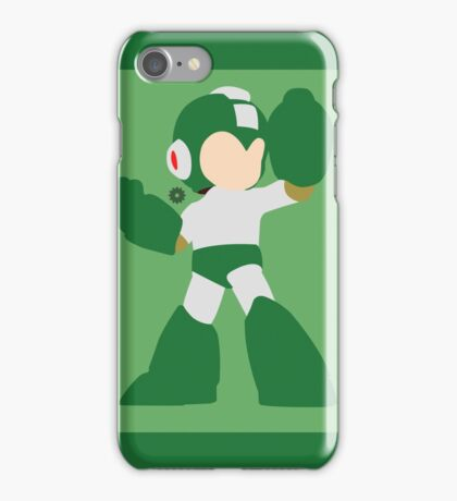 Mega Man (Green) - Super Smash Bros. iPhone Case/Skin