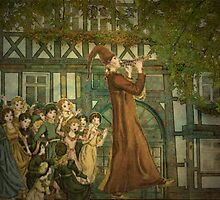 The Pied Piper by Marie Luise  Strohmenger