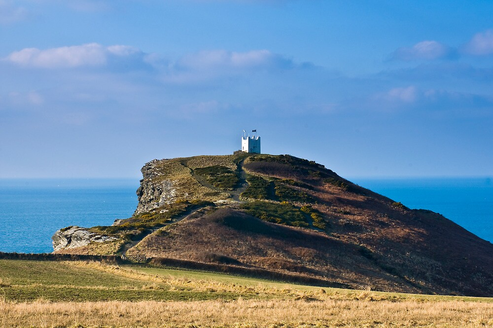 Boscastle Watchtower by David Wilkins