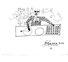 DRAWING By Moma Bjekovic Photographic Print