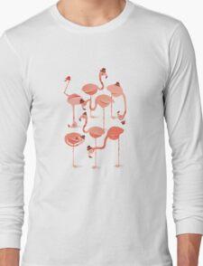 Flamingo's Long Sleeve T-Shirt
