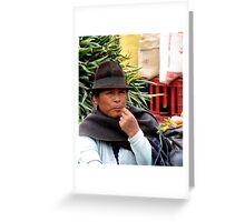 Market Day, Ecuador Greeting Card