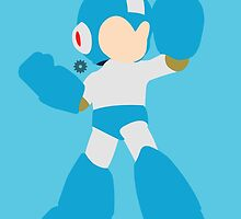 Mega Man (Light Blue) - Super Smash Bros. by samaran