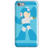 Mega Man (Light Blue) - Super Smash Bros. iPhone Case/Skin