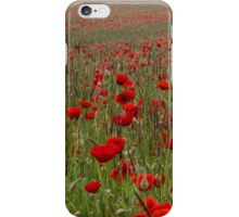 just poppies iPhone Case/Skin
