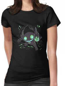 Sableye In A Cave Womens Fitted T-Shirt
