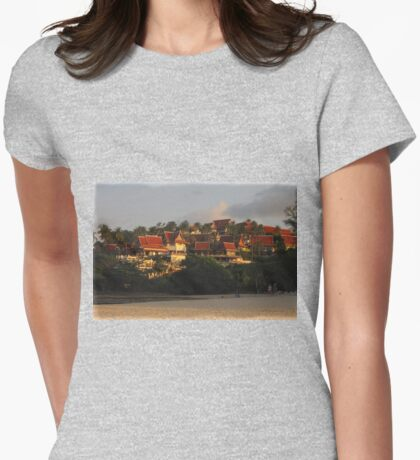 Thai Resort on the Hill Womens Fitted T-Shirt