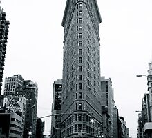 Flatiron building in New York City by Florian Gerus