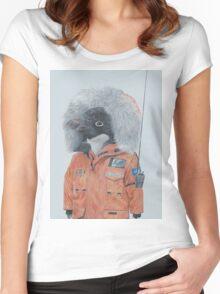 Antarctic Penguin Women's Fitted Scoop T-Shirt