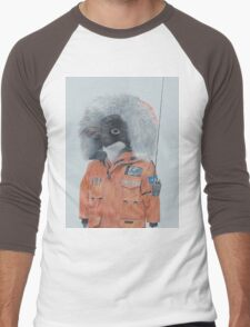 Antarctic Penguin Men's Baseball ¾ T-Shirt