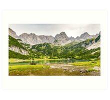 Seebensee | Tyrol | Austrian Alps | Europe  Art Print