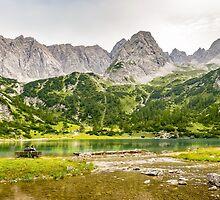 Seebensee   Tyrol   Austrian Alps   Europe  by Brixhood