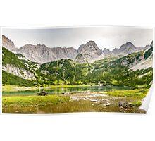 Seebensee | Tyrol | Austrian Alps | Europe  Poster