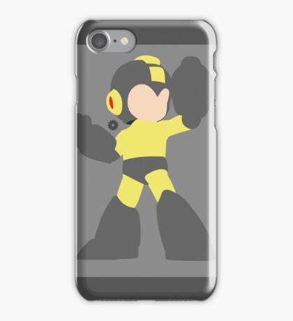 Mega Man (Black) - Super Smash Bros. iPhone Case/Skin