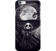 The Scream Before Christmas iPhone Case/Skin