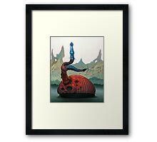 Magwan Flan Framed Print