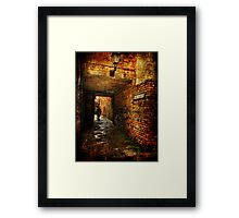 The Bolts, Scarborough. Framed Print