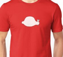 A Detailed Drawing of a Simplified Chicken Unisex T-Shirt