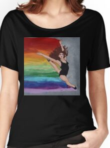 DANCE -1ST IN 'SHOW YOUR COLOURS' SERIES Women's Relaxed Fit T-Shirt