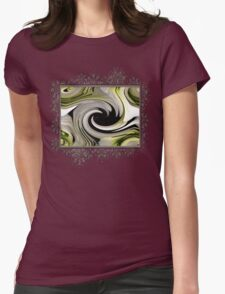 Endless Love Twirls Womens Fitted T-Shirt