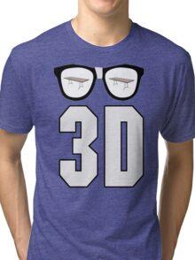 Dudley Boyz 3D Tri-blend T-Shirt