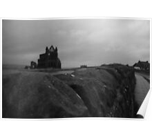 Whitby Abbey - North Yorkshire, England Poster