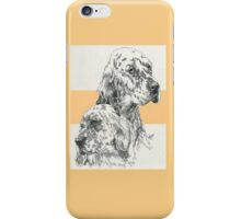English Setter Father & Son iPhone Case/Skin