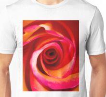 Rosey Swirl Unisex T-Shirt