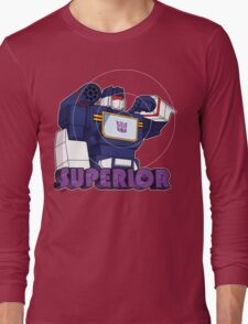 Soundwave: Superior (bust) Long Sleeve T-Shirt