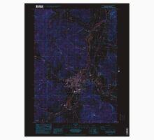 USGS Topo Map Oregon Cottage Grove 279448 1984 24000 Inverted Kids Tee
