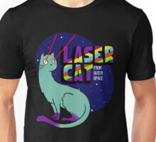 Laser Cat From Outer Space Unisex T-Shirt
